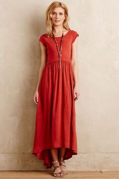 Deiva Midi Dress - anthropologie.com