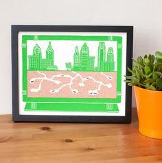 Philadelphia Ant Farm by YardsalePress on Etsy Boerderij Kunst 0ab138f9a