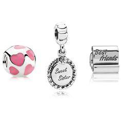 Pandora Sweet Sister Gift Set