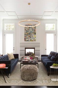 Presidio Residence - transitional - Living Room - San Francisco - Adeeni Design Group