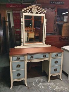 Sold by Treasured Thriftique, LLC. Refinished by Southern Fried Thriftique.
