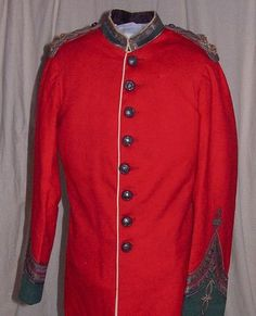 """""""Uniform of Honorary Major George Bagot Stack (V.D.)"""" (ca. 1890-1900). Australia, New South Wales, Balmain. The Cavalacade of History and Fashion Inc. Posted on australiandressregister.org."""