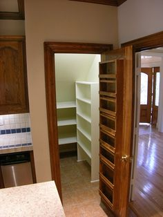 Shelving Under Stairs under stairs pantry ikea shelves, rod and hooks. | make my own