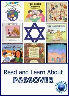 Books and activities for Passover for kids