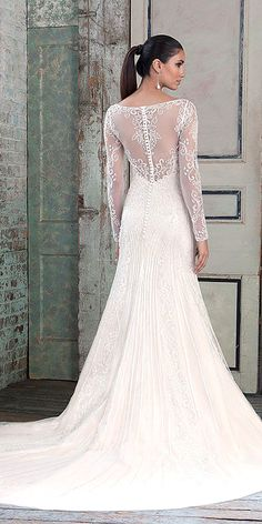 Top 18 Wedding Dresses With Fine Details by Justin Alexander ❤ See more: http://www.weddingforward.com/justin-alexander-wedding-dresses/ #weddings
