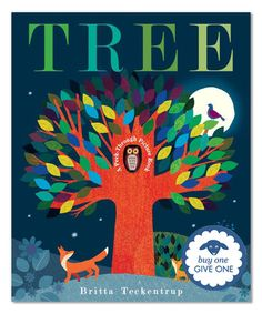 Loving this Tree: A Peek-Through Picture Book Hardcover on #zulily! #zulilyfinds