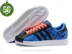 Officiel Adidas 2016 - Adidas Chaussures D´amoureux Royalblu Noir (Adidas Femme Pas Cher)