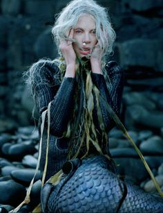 Tim Walker's shocked mermaid