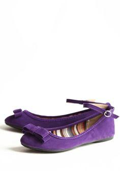 e1065abff0c2 purple flats -- Ruche Purple Socks