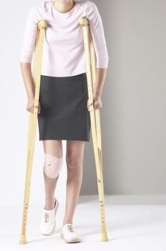 How to Keep Fit When Using Crutches- good since I am on crutches for a while :(