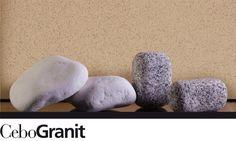 CeboGranit: Acqua e tempo plasmano il granito, resistente come la roccia, opaco e liscio come un sasso levigato. #rivestimento #spessore #puntinatura #opaco #resistente #liscio #cebogranit #ceboscolor
