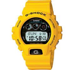Yellow Casio G Shock