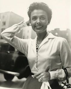 Vivian Maier Lena Horne, New York, September 30, 1954