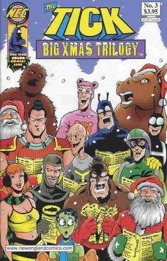 Cover for The Tick Big Xmas Trilogy (New England Comics, 2002 series) #3
