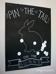 pin the tail on the bunny - Google Search