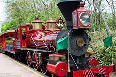 WDW April 2009 - The Walt Disney World Railroad by PeterPanFan, via Flickr