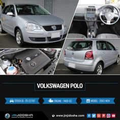 #Buy Your #Volkswagen #Polo 2007 Now!  #JinJidosha #Japan #BestCarSellingCompany #Japanese #RHD #Drive #Carsforsale #Sale #AT #Automatic #Speedway #SuperCars #Silver #Foglights #Soundsystem #AlloyWheels #Navigation #Vehicles #Cars #Dealership #Offer