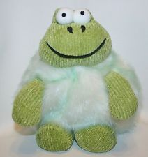 Frog Froggy Plush Stuffed Animal Soft Bean Toy By Rich RARE