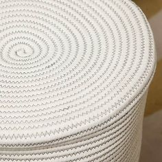 Rope Laundry Bag   Dunelm White Laundry Basket, Handmade, Bags, Design, Home Decor, Cotton, Handbags, Hand Made, Decoration Home
