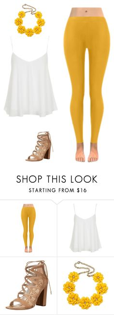Sunshine by madisynmayb on Polyvore featuring  J&C Creations, Topshop and Sam Edelman