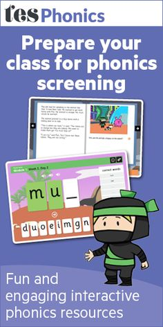 Phonics screening check, screen test for year 1 - TES - Resources - TES