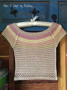 ideas for knitting patterns ladies jumpers cardigans Débardeurs Au Crochet, Crochet Woman, Crochet Cardigan, Crochet Stitches, Free Crochet, Easy Crochet Patterns, Knitting Patterns Free, Crochet Summer Tops, Crochet Tops