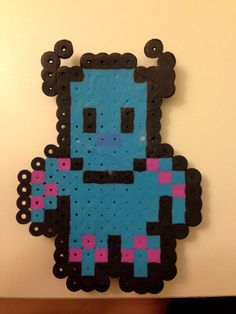 Monsters Inc, Perler Beads, Unique Jewelry, Awesome, Handmade Gifts, Crafts, Vintage, Etsy, Kid Craft Gifts