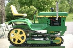 Now this is a lawn tractor!