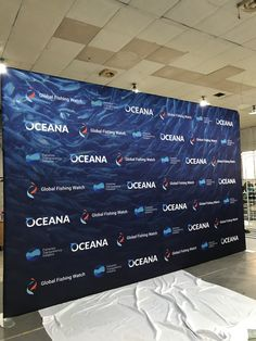 Waveline Tension Fabric Displays are also known as Pillowcase Displays. They are used for Tradeshows, Step and Repeat Backdrops and more. Fabric Display, Trade Show, Non Profit, Photo Booth, Event Planning, Printing On Fabric, Backdrops, United States, Study