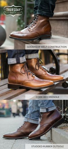 4dd9d296fa33 Handcrafted with the highest quality materials.  ThursdayBoots Fashion  Moda