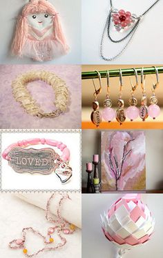 Pretty in Pink by Janelle on Etsy--Pinned with TreasuryPin.com
