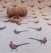 A small British company based in Yorkshire specialising in beautiful freehand designed linen fabrics, homeware & gifts. Hunting Lodge Interiors, Fabric Design, Print Design, Little Dream Home, Pheasant Hunting, Curtains With Blinds, Material Girls, Soft Furnishings, Linen Fabric