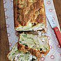 Cake amande poulet & courgette