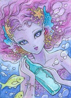 Mermaid's Wish by aruarian-dancer.deviantart.com on @deviantART