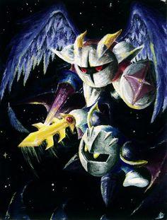 Meta Knight vs. Galacta Knight by omurizer.deviantart.com on @deviantART