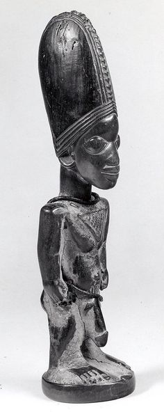 Yoruba Ere Ibeji (Twin Figure), Igbomina - Ila Orangun, Nigeria http://afriart.tumblr.com/post/91986223869/nigeria-yoruba-ere-ibeji-twin-figure-igbomina