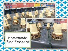 Making Homemade Bird Feeders for Earth Day