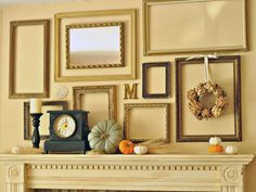9 Ways To Deck Out Your Walls For Fall