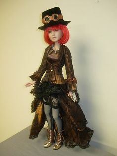 Ashton Drake Delilah Noir Steampunk Outfit Accessories Only No Doll New   eBay