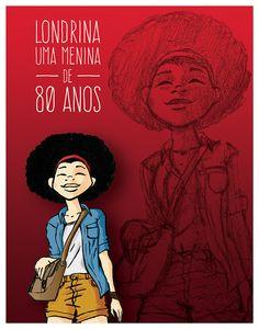 Menina de 80 Anos / Revista Living Vectra on Behance