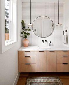 Home Luxury, Luxury Homes Interior, Bathroom Renos, Master Bathroom, Bathroom Cabinets, Bathroom Beadboard, Wood Floor Bathroom, Bathroom Bath, Modern Bathroom
