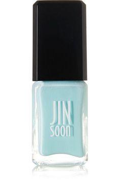 JINsoon - Chris Riggs Graffiti Art Nail Polish Collection - Peace, 10ml - Sky blue