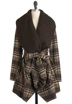 I want this too.  Ryu Cocoa and Waffles Coat | Mod Retro Vintage Coats | ModCloth.com