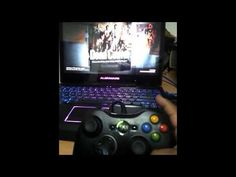 Games and Tech: Alienware m14x - xbox 360 controller unboxing n L4...