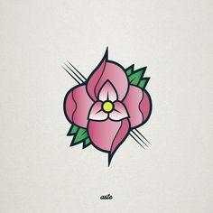 La Dispute #Redesign #Rediseño #Flower #Tattoo