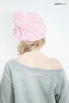Latontaelrosa rosa pink crochet wool lana gorro cap accesorios accessoires ropa clothes packaging regalos gift miraquechulo