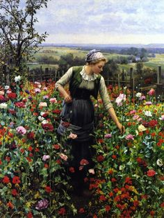 A July Morning, by Daniel Ridgway Knight
