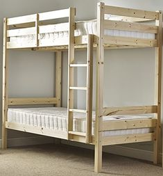 Heavy Duty Bunk Bed – 3ft single solid pine bunk bed – Can be used by adults – VERY STRONG – Prima Furniture