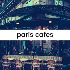 Going to France? Here are some of the best cafes in Paris! Best Cafes In Paris, Paris Cafe, Cool Cafe, France Travel, The Best, Told You So, Good Things, Explore, Adventure