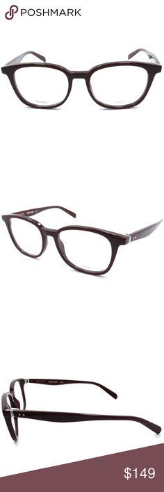 39ff87055ad Celine Eyeglasses Ople Burgundy w Demo Lens Celine Square Style Women  Eyeglasses Having Ople Burgundy